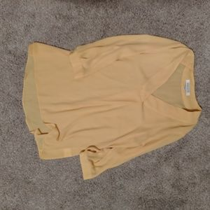 Yellow Blouse Size Small